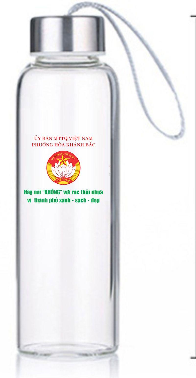 In logo trên chai thủy tinh chất lượng tại đơn vị in ấn hàng đầu In Bảo Đức